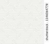 vector seamless pattern. modern ... | Shutterstock .eps vector #1146064778
