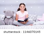 read fairytale before go to bed.... | Shutterstock . vector #1146070145
