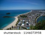 travel new zealand. top view of ... | Shutterstock . vector #1146073958