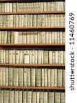 vintage bookcase   Shutterstock . vector #11460769