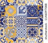 Azulejos Tiles Checked Abstrac...
