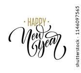 2019 happy new year. beautiful... | Shutterstock .eps vector #1146097565