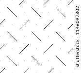 strokes  dots. geometric motif. ... | Shutterstock .eps vector #1146097802