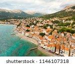 aerial panoramic view of baska... | Shutterstock . vector #1146107318