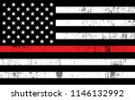 an american flag symbolic of... | Shutterstock .eps vector #1146132992