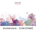 hand drawn colorful seamless... | Shutterstock .eps vector #1146154682