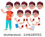 boy  child  kid  teen vector....   Shutterstock .eps vector #1146185552