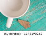 leather label on rustic wood... | Shutterstock . vector #1146190262