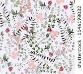 seamless pattern with field... | Shutterstock .eps vector #1146198032