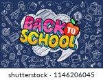 concept of education. school... | Shutterstock .eps vector #1146206045