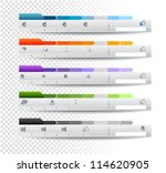 collection of web elements ... | Shutterstock . vector #114620905