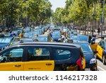 barcelona  catalunya spain  ... | Shutterstock . vector #1146217328