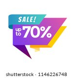 big sale banner. vector... | Shutterstock .eps vector #1146226748