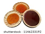 biscuits with marmalade 3d... | Shutterstock . vector #1146233192