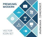 modern  simple vector icon set... | Shutterstock .eps vector #1146242615