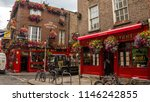 the famous temple bar  located... | Shutterstock . vector #1146242855