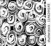 white and black grunge pattern. ... | Shutterstock .eps vector #1146244145