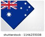 australian flag design... | Shutterstock . vector #1146255038