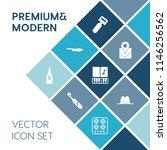 modern  simple vector icon set... | Shutterstock .eps vector #1146256562