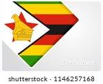 zimbabwean flag design... | Shutterstock . vector #1146257168