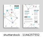 abstract brochure design.flyer... | Shutterstock .eps vector #1146257552