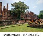 ayutthaya old capital of... | Shutterstock . vector #1146261512