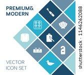 modern  simple vector icon set... | Shutterstock .eps vector #1146262088