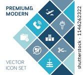 modern  simple vector icon set... | Shutterstock .eps vector #1146262322