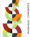 modern circle abstract... | Shutterstock .eps vector #1146266015