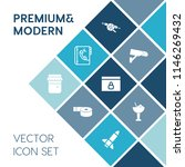 modern  simple vector icon set... | Shutterstock .eps vector #1146269432