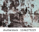 traces of time left on the wall.... | Shutterstock . vector #1146275225