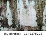 traces of time left on the wall.... | Shutterstock . vector #1146275228