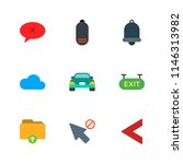 modern simple vector icon set.... | Shutterstock .eps vector #1146313982