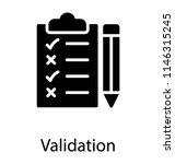 a pinned document in a...   Shutterstock .eps vector #1146315245