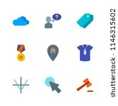 modern simple vector icon set.... | Shutterstock .eps vector #1146315602