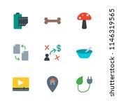 modern simple vector icon set.... | Shutterstock .eps vector #1146319565
