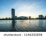 city skyline in shanghai china | Shutterstock . vector #1146332858