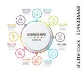 modern infographics template   Shutterstock .eps vector #1146336668