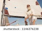 portrait of senior man with...   Shutterstock . vector #1146376238