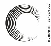 concentric circle and rings.... | Shutterstock .eps vector #1146378032
