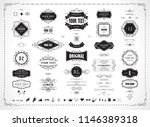set of original design elements ... | Shutterstock .eps vector #1146389318