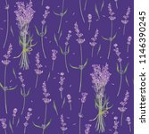 seamless pattern with flowers ... | Shutterstock . vector #1146390245
