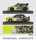 car decal design vector.... | Shutterstock .eps vector #1146421175