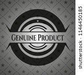 genuine product dark badge | Shutterstock .eps vector #1146450185