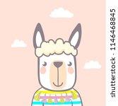 cute animal. character. vector. | Shutterstock .eps vector #1146468845