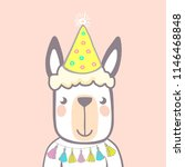 set of cute animals. character. ... | Shutterstock .eps vector #1146468848