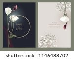 luxury invitation card in the... | Shutterstock .eps vector #1146488702