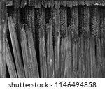 burnt wood grey background.... | Shutterstock . vector #1146494858