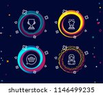 set of winner  shopping cart... | Shutterstock .eps vector #1146499235