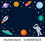 cute colorful background... | Shutterstock .eps vector #1146505625